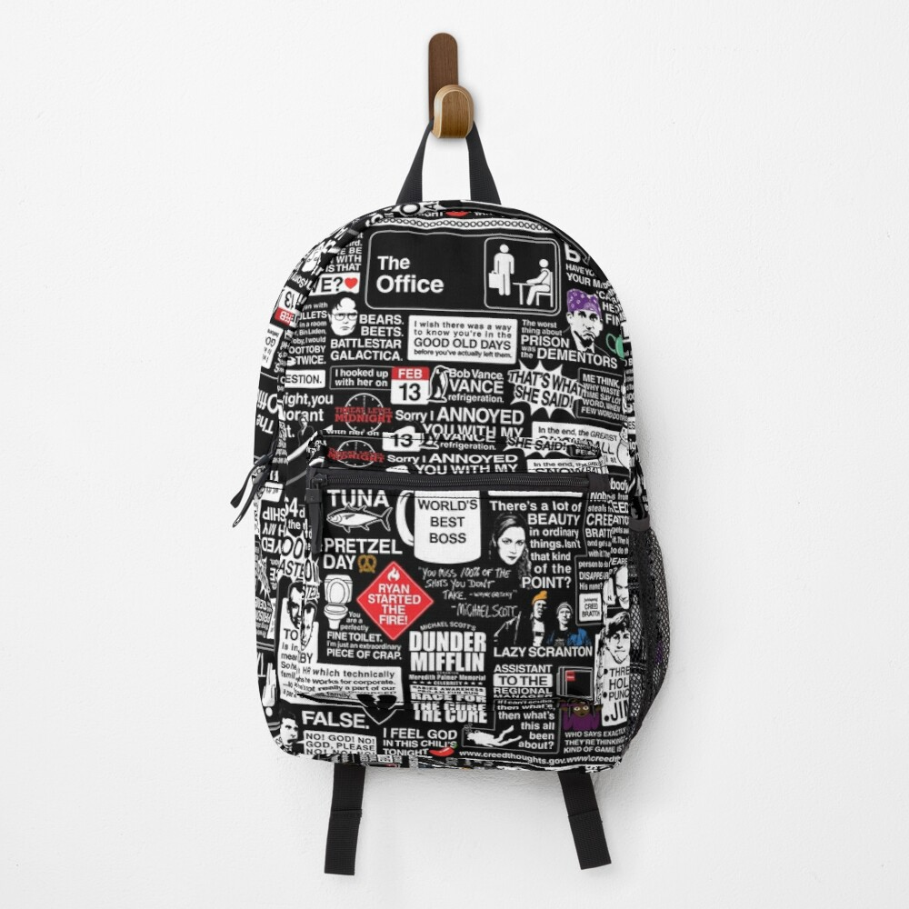 Wise Words From The Office - The Office Quotes Backpack