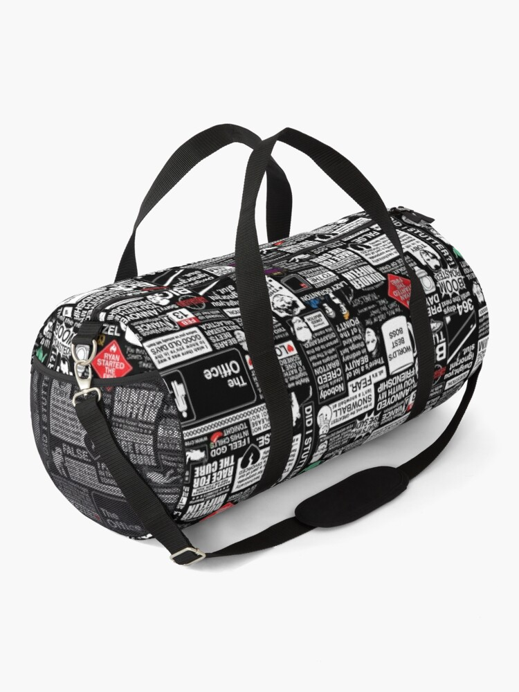 Alternate view of Wise Words From The Office - The Office Quotes Duffle Bag