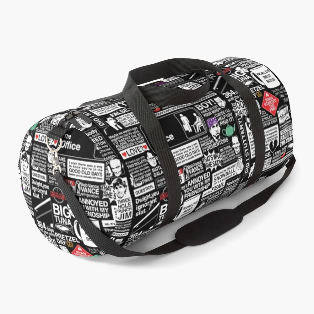 Wise Words From The Office - The Office Quotes Duffle Bag