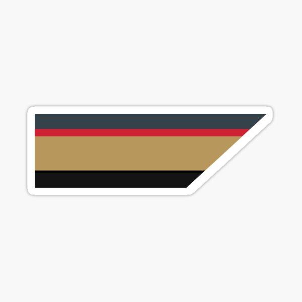 Vegas Golden Knights Stripe  Sticker