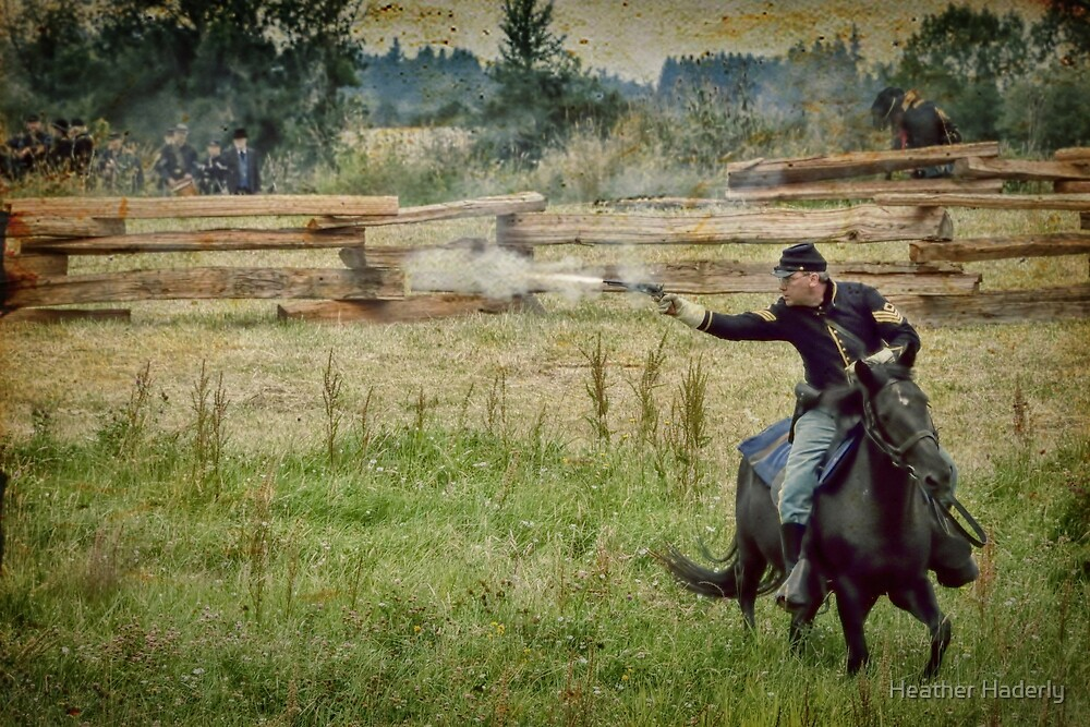 Civil War Reenactment 2 by Heather Haderly