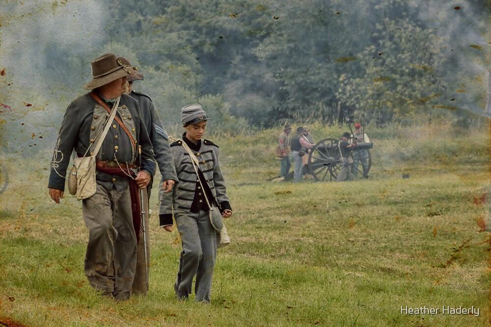 Civil War Reenactment 4 by Heather Haderly