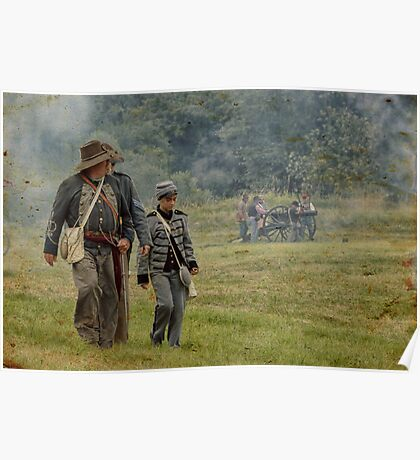Civil War Reenactment 4 Poster