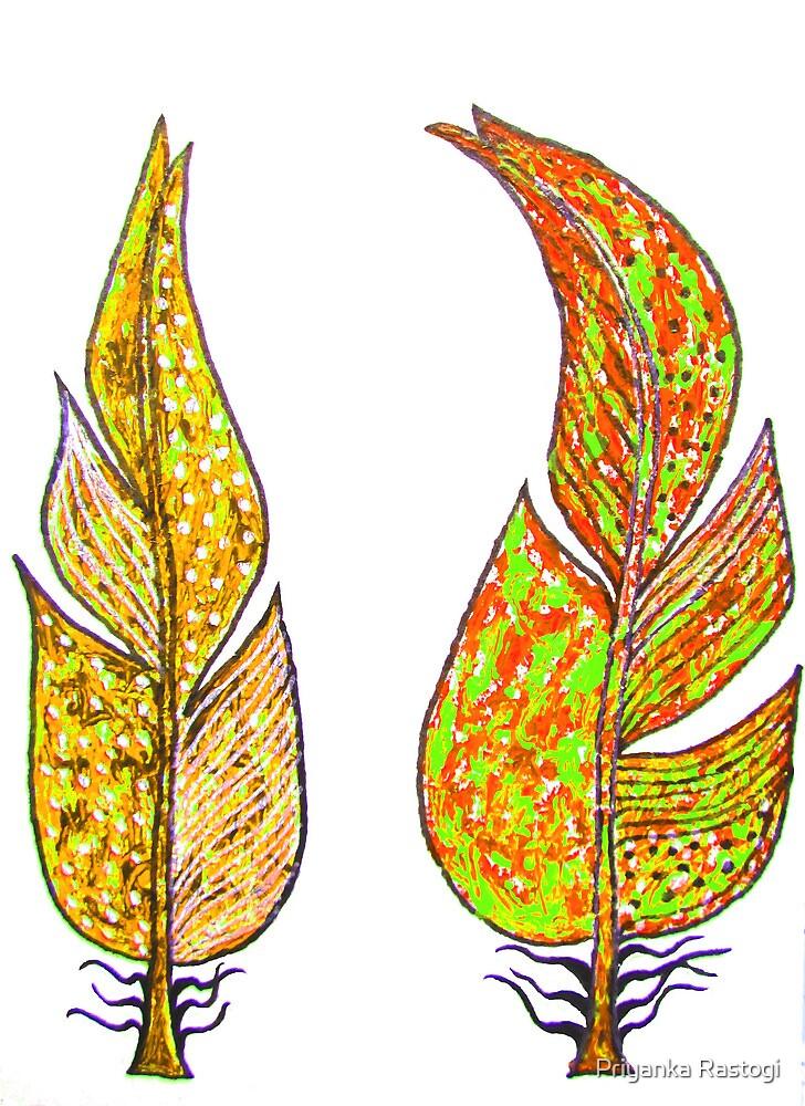 Friendship feather2 by Priyanka Rastogi