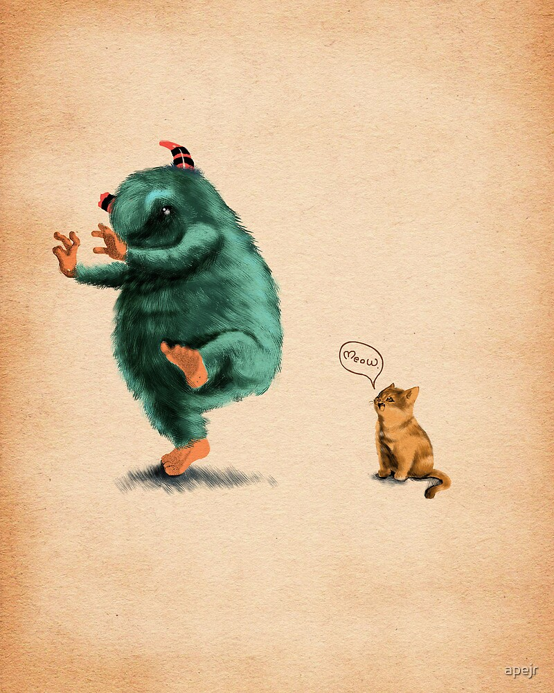 Big Monster Small Phobia by apejr