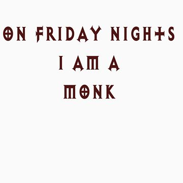 Class shirt- Monk by Snowfox