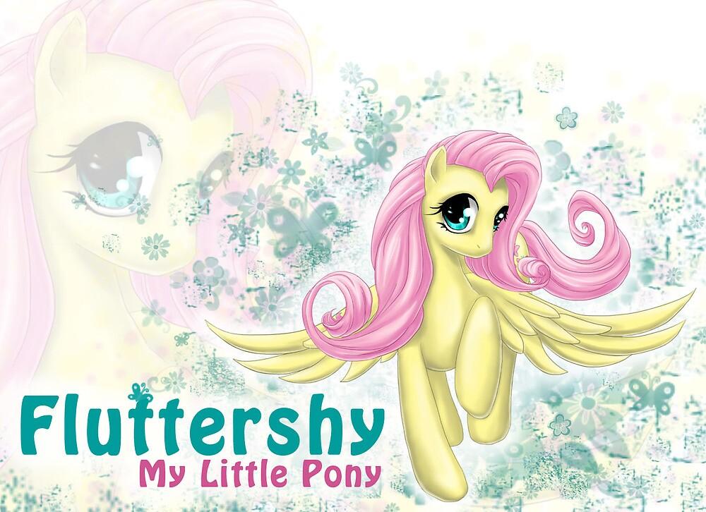 My Little Pony - Sweet Lil' Fluttershy by MidnightWhimsy