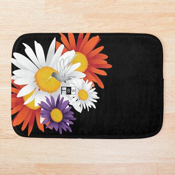 Encourage Floral Bath Mat