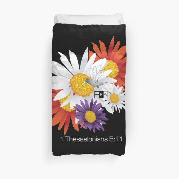 Encourage Floral Duvet Cover