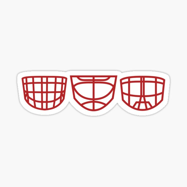 The Three Cages Sticker