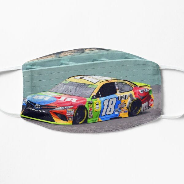 Kyle Busch racing 2018 Flat Mask