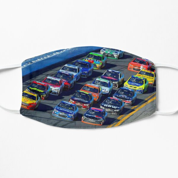 Nascar Sprint Daytona 500 start Flat Mask