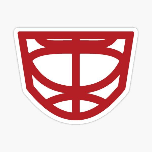 Goalie Mask Cage Sticker