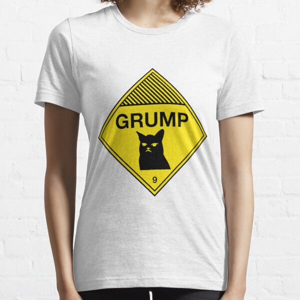 Grumpy Cat Warning Essential T-Shirt