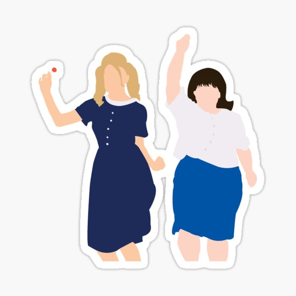 Hairspray: Tracy and Penny Sticker