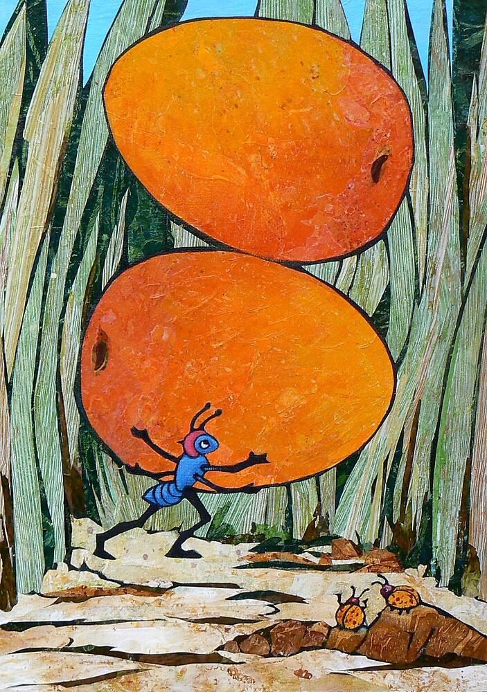 Antonia with Mangoes by Barbara Nye