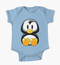 Little Tux One Piece - Short Sleeve