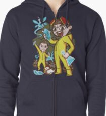 The Legend of Heisenberg Zipped Hoodie