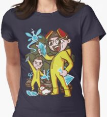 The Legend of Heisenberg Women's Fitted T-Shirt