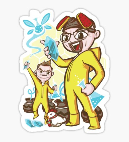 The Legend of Heisenberg Sticker