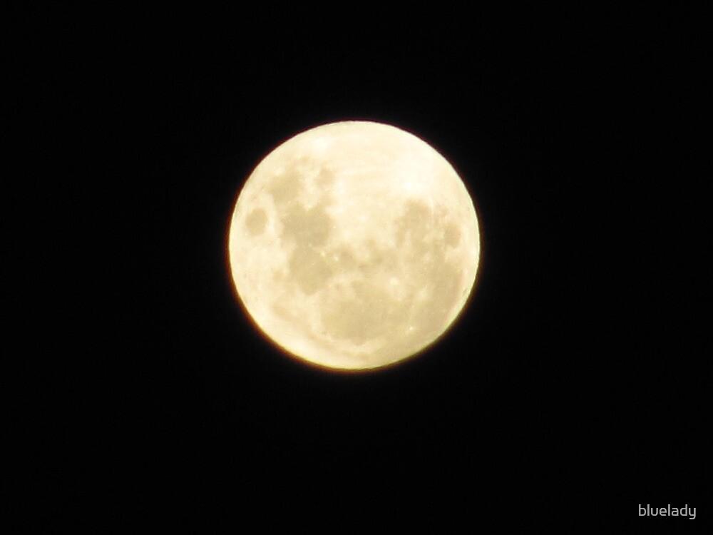 full moon by bluelady