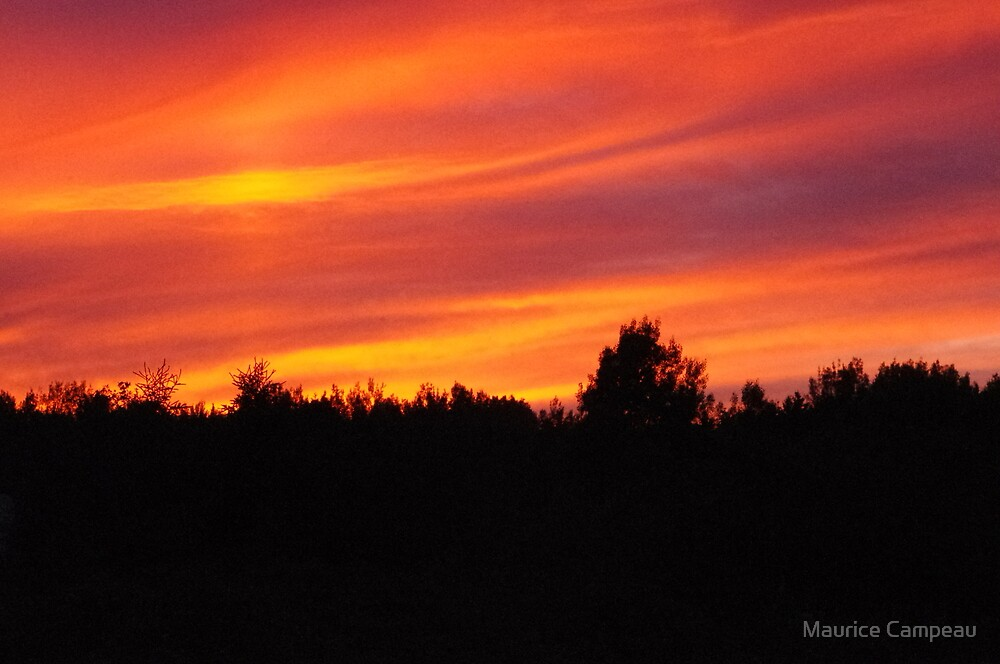 Sunset by Maurice Campeau