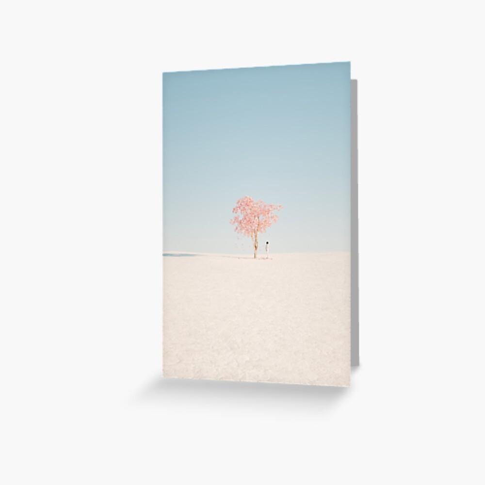 white dessert  Greeting Card