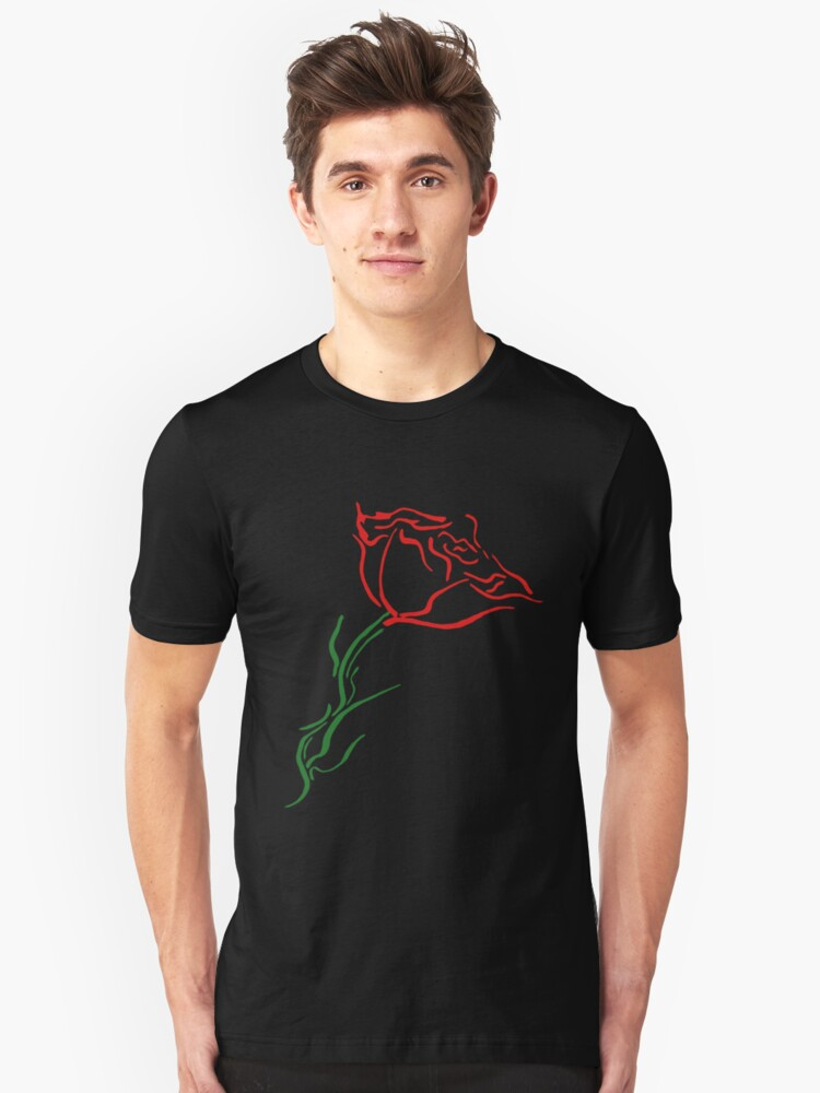 Blooming Rose Unisex T-Shirt Front