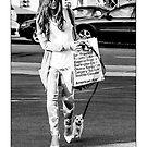 Kate Beckinsale - Hands Full by Ron Dubin