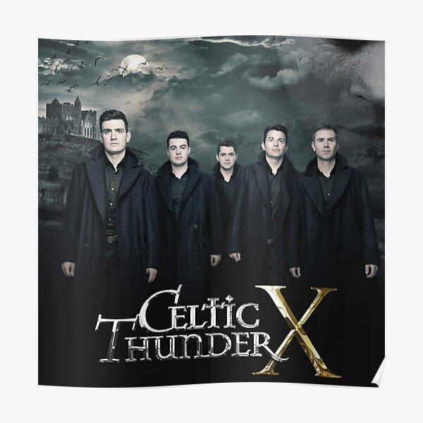 Album Music Celtic Thunder X Irish Show Poster