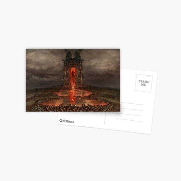 Planet Apocalypse: The Gate Postcard
