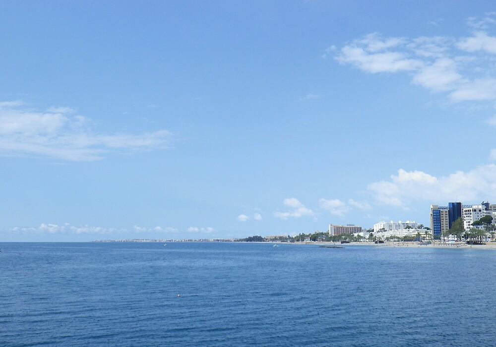 SPAIN AGUADULCE CITY AND SEA by Alrescha