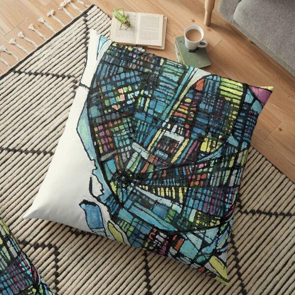 Buffalo, NY Floor Pillow
