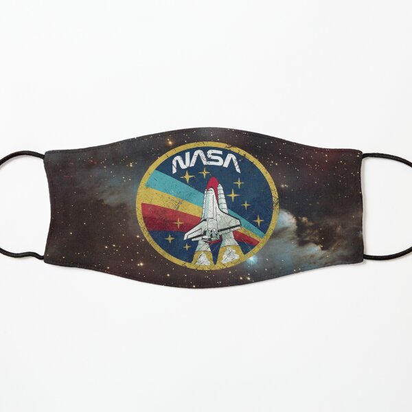 Nasa Vintage Colors V01 Kids Mask