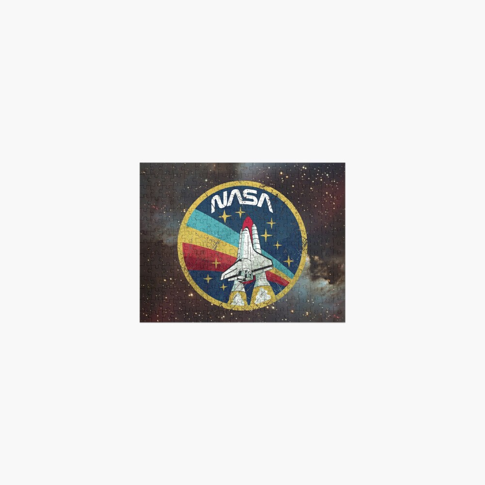 Nasa Vintage Colors V01 Jigsaw Puzzle