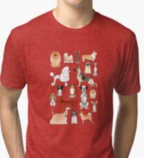 Camiseta de tejido mixto Perros