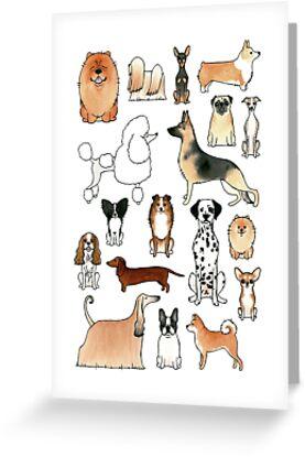 Hunde von Rebecca Bennett