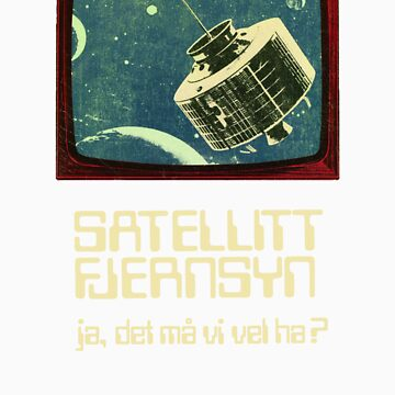 Satellite TV by vintagegraphics