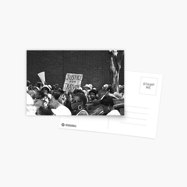 Justice for Trayvon Postcard