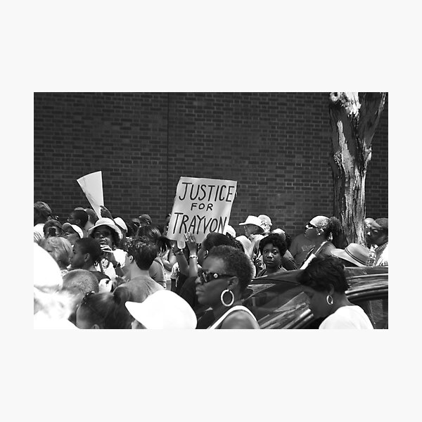 Justice for Trayvon Photographic Print
