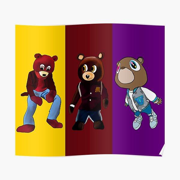 The Kanye Bears Poster