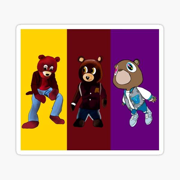 The Kanye Bears Sticker