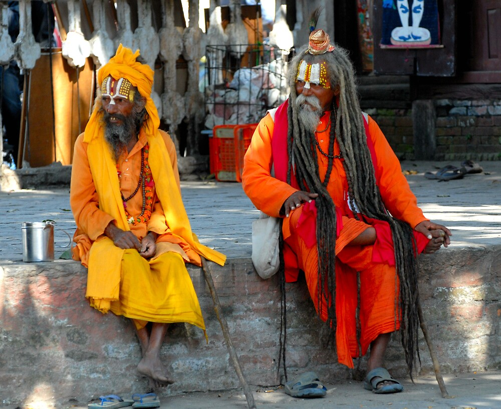 The Holy men of Kathmandu by walkda