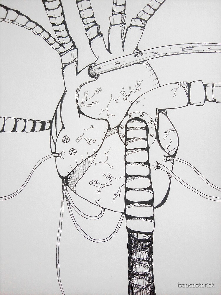 Mechanical Heart by isaacasterisk