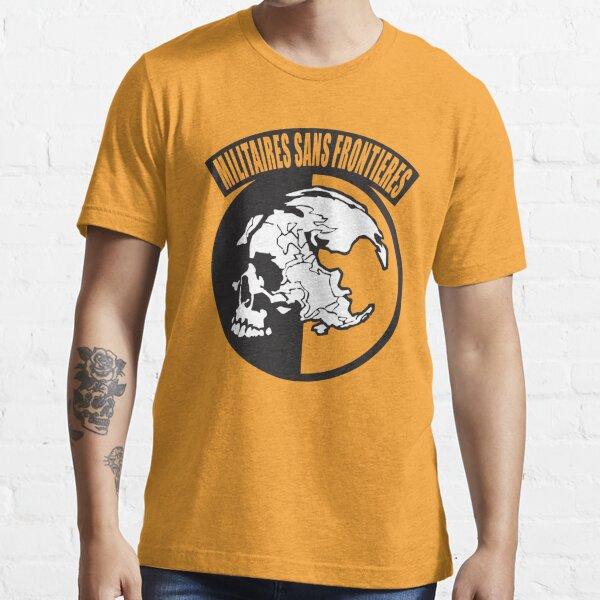 Metal Gear Solid - MSF (Militaires Sans Frontières) T-shirt essentiel
