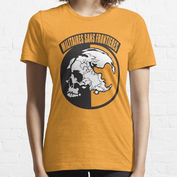 Metal Gear Solid - MSF (Militaires Sans Frontières) Essential T-Shirt