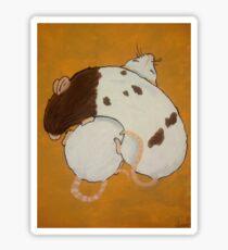 Cuddling Rats Sticker