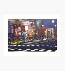 Downtown Nashville Art Print