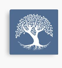 The Lovers Tree of Life Canvas Print
