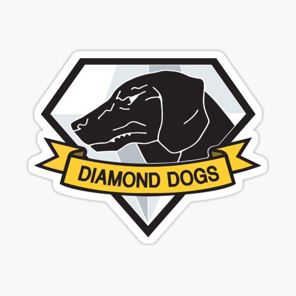 Diamond Dogs (MGSV) Sticker